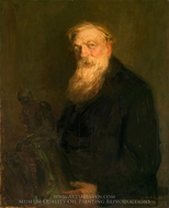 Auguste Rodin painting reproduction, Robert MacCameron