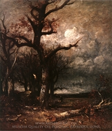 Autumn painting reproduction, Julien Dupre
