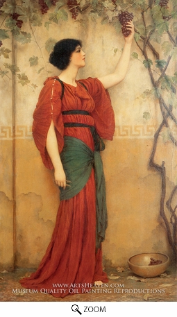 Painting Reproduction of Autumn, John William Godward