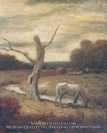 Autumn Meadows painting reproduction, Albert Pinkham Ryder