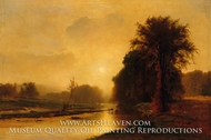 Autumn Meadows by George Inness