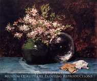 Azaleas by William Merritt Chase