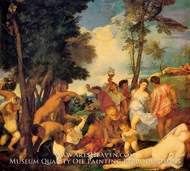 Bacchanal painting reproduction, Titian