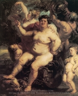 Bacchus painting reproduction, Peter Paul Rubens