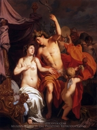 Bacchus and Ariadne painting reproduction, Gerard De Lairesse