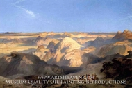 Badlands of the Dakota by Thomas Moran