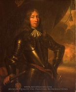 Baron Willem Joseph Van Ghent painting reproduction, Jan De Baen