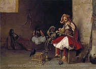 Bashi Bazouk Singing painting reproduction, Jean-Leon Gerome