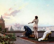 Bathsheba painting reproduction, Jean-Leon Gerome