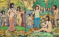 Beach No. 3 by Maurice Prendergast