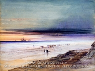 Beach Scene by James Hamilton