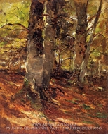 Beachwoods at Polling by Frank Duveneck