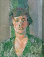 Beatrice Stein Steegmuller painting reproduction, Jacques Villon