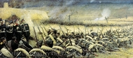 Before Attack Near Plevna painting reproduction, Vasiliy Vereschagin