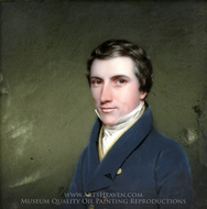 Benjamin Moore McVickar painting reproduction, Charles Cromwell Ingham