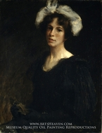Bessie Potter painting reproduction, William Merritt Chase