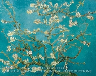 Blossoming Almond Tree by Vincent Van Gogh