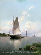 Blue Point, Long Island by Alfred Thompson Bricher