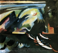 Boat Trip painting reproduction, Wassily Kandinsky