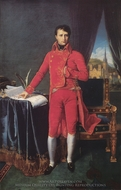 Bonaparte as First Consul painting reproduction, Jean Auguste Dominique Ingres