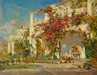 Bougainvillea on Capri painting reproduction, Constantin Alexandrovitch Westchiloff