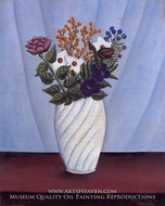 Bouquet of Flowers by Henri Rousseau