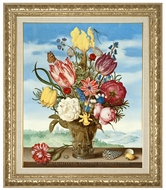 Bouquet of Flowers on a Ledge painting reproduction, Ambrosius Bosschaert