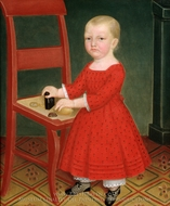 Boy with Blond Hair painting reproduction, Edgar William