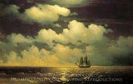 Brig Mercury After Victory painting reproduction, Ivan Aivazovskiy