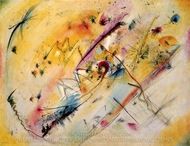 Bright Picture painting reproduction, Wassily Kandinsky