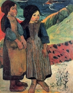 Brittany Close to the Sea painting reproduction, Paul Gauguin