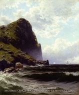Brundith Head, Grand Manan by Alfred Thompson Bricher