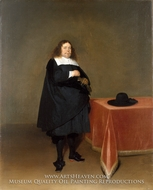 Burgomaster Jan van Duren by Gerard Ter Borch
