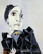 Buste de Dora Maar by Pablo Picasso (inspired by)