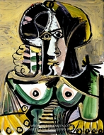 Buste de Femme by Pablo Picasso (inspired by)