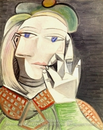 Buste de Femme (Marie-Therese Walter) by Pablo Picasso (inspired by)