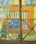 Butcher, Seen Through a Window painting reproduction, Vincent Van Gogh