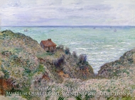 Cabin of the Customs Watch by Claude Monet