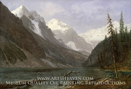 Canadian Rockies (Lake Louise) by Albert Bierstadt