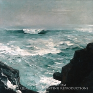 Cannon Rock painting reproduction, Winslow Homer