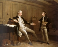 Captain John Bentin and his Son, William Bentinck painting reproduction, Mason Chamberlin