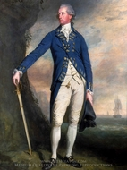 Captain Sir George Montagu painting reproduction, Thomas Beach