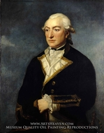 Captain Sir Richard Pearson painting reproduction, Charles Grignion