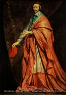 Cardinal Richelieu painting reproduction, Philippe De Champaigne