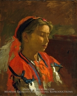 Carmelita Requena by Thomas Eakins