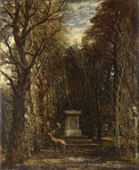 Cenotaph to the Memory of Sir Joshua Reynolds painting reproduction, John Constable