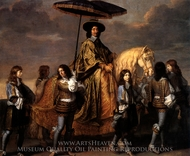 Chancellor Pierre Seguier painting reproduction, Charles Le Brun