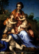 Charity painting reproduction, Andrea Del Sarto