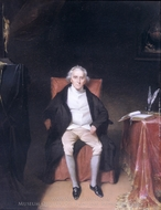 Charles Carroll of Carrollton painting reproduction, William James Hubard