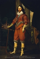 Charles I, King of Great Britain and Ireland painting reproduction, Daniel Mytens, The Elder